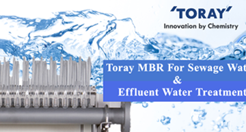Toray MBR For Sewage Water and Effluent Treatment