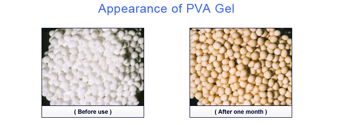 Advantages of PVA gel